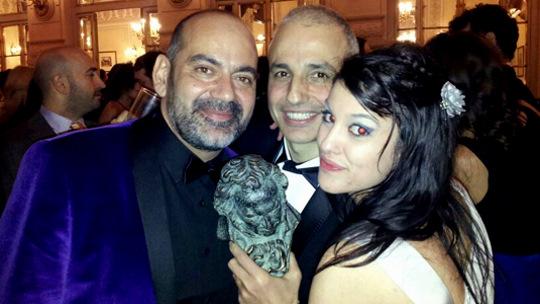 Follando en los lavabos en la entrega de los premios Goya