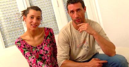 Increíble!, con 18 años y 2 meses la encanta follarse tíos de más de 41, Clara LA PERFECTA LOLITA y su profe de spinning - foto 2