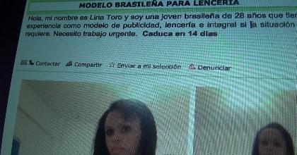 La modelo brasileña en paro, el hijo virgen y salido y el mal padre entra en acción.