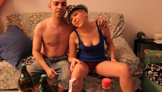 De la discoteca GOA un domingo a actriz porno un lunes completamente colocada