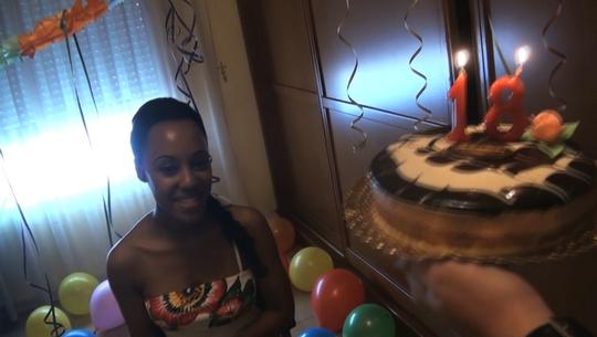 Ayer tenía 17, hoy 18: feliz cumple Noemi!!