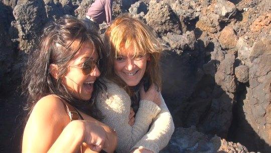 De turismo por Lanzarote: MEGAPOLVO con Kiko follando por todas partes