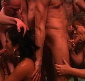 Bukkake con Delia Rosa y Jazmina : lo que no vas a poder ver en Callejeros. Enganchados al sexo, ¿estáis preparados? - foto 6