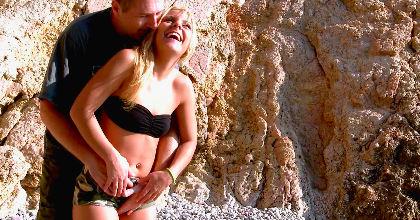 Un dia de playa con Jaqueline Teen, el dia en el que nuestra jovencita se corrio como nunca - foto 2