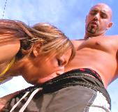 Elastica francesita Eva Lange vs Bryan Ferro. Clases de Fuck-Fitness a la española - foto 6