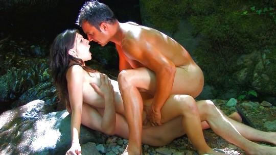 Doble penetracion vaginal y anal con una francesa de vacaciones en España