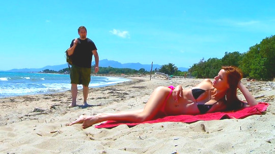 El sueño de todo verano, follarte a un pibonazo. Susana Melo de nuevo en acción... brutal !!!