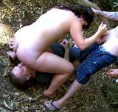 Doble penetración al coño de Mylene Johnson... y porque no hay mas pollas !!! - foto 7