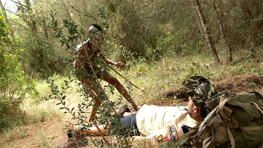 Sexo Zulú con Bianka de la selva. ¿Dr. Kevin White, supongo? - foto 1