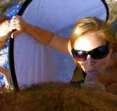 Lara Tinelli, su novio Juan, una espontánea y aqui follan hasta los cámaras. Por que cada escena de Follame Tonto se convierte en una fiesta - foto 9