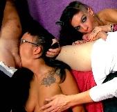 La gran orgia de Jenny up Destroy y Jessica Blue con SQUIRTING ANAL incluido - foto 2