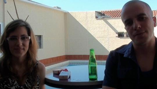 Isa y Rafa desde Sevilla. Ella creo que era la empollona de tu clase