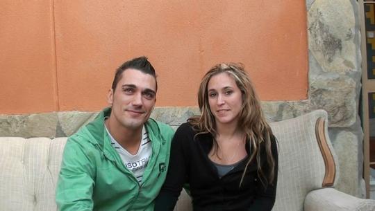 Una chica española muy zorrita iniciandose