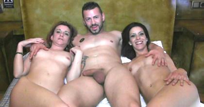 Se liga a dos tías que son amigas, se las folla por separado y las convence para venir a hacer un trío. - foto 2