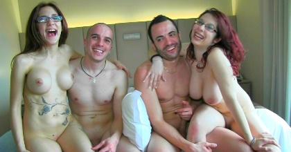 Vidas porno, vidas liberales: follando por todo el hotel como si fuera nuestro... hasta las espontáneas querían polla!! - foto 2