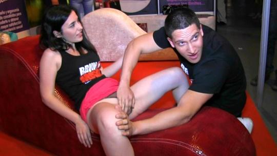 La liamos a lo grande en el Salon Erotico - foto 1