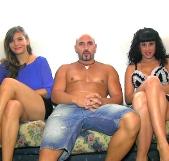 La tierna Sol quiere ser una máquina de follar, trío BRUTAL con Nadia y Bryan