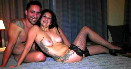 ¡Fóllate a mi mujer tronco!: viviendo su PRIMERA EXPERIENCIA con sorpresa. - foto 2