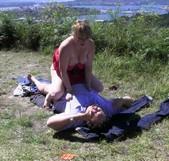 Vienen de vacaciones a que les enseñe Galicia y esto se convierte un Dogging PROHIBIDO - foto 4