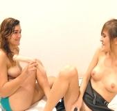 Sexo entre chicas!!, después de la pelea llegó el amor :)